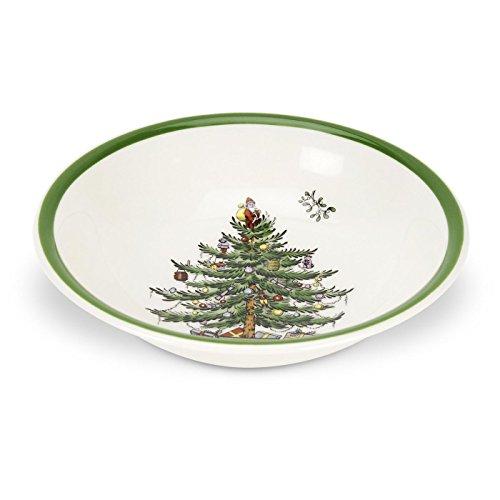 Spode Christmas Tree Cereal/Oatmeal Bowl, Set of 4