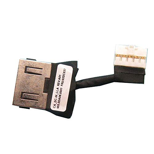 Zahara Power Head DC-in Interface Cable Replacement for Lenovo ThinkPad Yoga 11e 5th Gen 02DC033