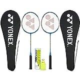 Yonex GR 303F Aluminum Strung Badminton Racquet (Blue)