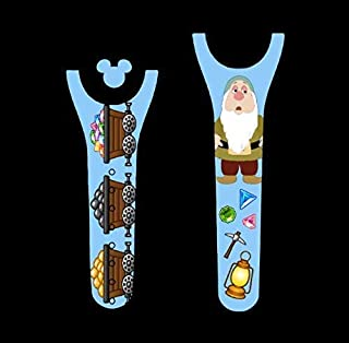 Vinyl Skin Decal Wrap Sticker Cover for the MagicBand 2 Magic Band 2 Sleeping Dwarf Themed