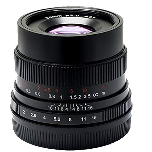 7Artisans 35mm F2.0 Full Frame Handmatige Focus Lens voor Sony Emount Camera's Zoals A7 A7II A7R A7RII A7S A7SII A6500 A6300 A6000 A5100 A5000 EX-3 NEX-3N NEX-3R NEX-F3K NEX-5 NEX-