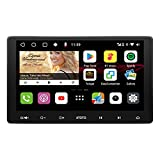 Navegación de Video del automóvil ATOTO S8 Premium Android en el Tablero S8G2114PM[IAH10D/Pantalla QLED], BT 2 con aptX HD,Android Auto y Carplay Inalámbrico,estacionamiento HD VSV con LRV, SCVC y más