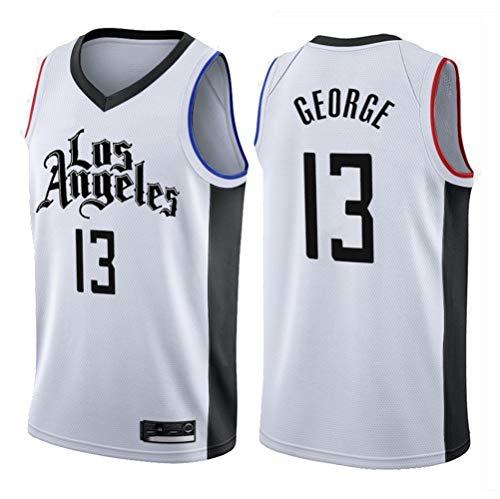 Clippers 13# George Jersey Herren-Basketball-Trikot Herren-Fans Unisex-Basketballtraining Atmungsaktiv Weste