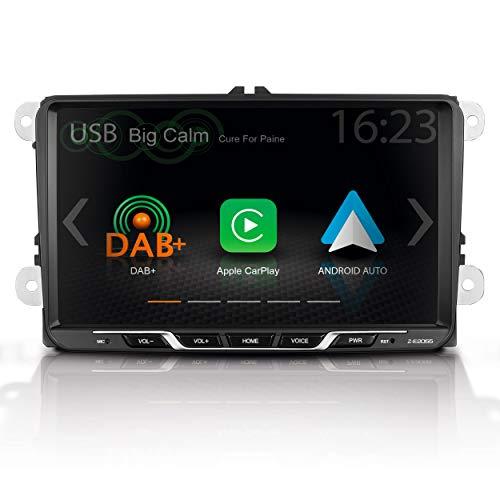 "ZENEC Z-E2055: Autoradio für VW, Seat, Skoda (Golf 5 + 6 Plattformen), Mediencenter mit 9"" / 22,9 cm Touchscreen, Multimediasystem mit Apple CarPlay, Google Android Auto, DAB+"