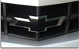 Reflective Concepts Front Bowtie Overlay Decal - 2010-2013 Camaro - (Color: Gloss Black)