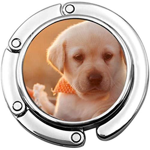 portemonnee haak schattig jong Labrador puppy hond mand vouwen handtas tafel Hanger-Bag Hanger Collection-bureau haken