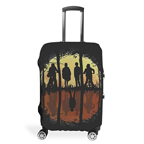 Chic 3D Colorful Pattern Travel Luggage Protector Suitcase Cover Protective Washable 18/20/24/28/32...