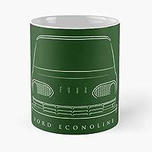 Ford Econoline Van Pickup - Morning Coffee Mug Ceramic Novelty Holiday 11 Oz