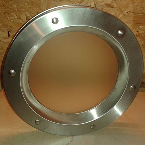 Porthole para puertas exteriores 350 mm Seguridad Aislamiento Cristal Mate