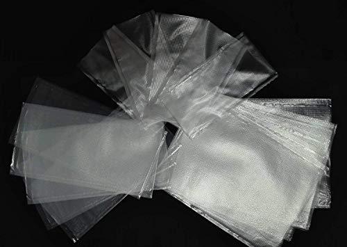 PVA-Beutel zum Karpfenangeln, schnell wasserlösliche Ködertasche für Boilie Rig massive Köder, Karpfenangeln-Zubehör, 100 Stück pro Packung, Mix Sizes