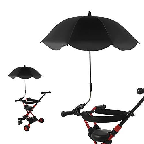 Fascigirl Kinderwagen Regenschirm Verstellbarer winddichter UV-Schutz Regenschirm Kinderwagen Sonnenschirm