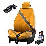 Cinturón de Seguridad para Mujeres Embarazadas, Ajustador de Cinturón de Seguridad Maternidad, Comodidad y Seguridad para Futuras Mamás, Protege a Tu Bebé por Nacer (Negro)