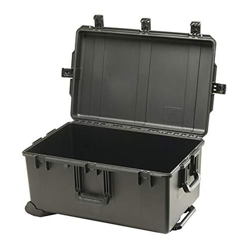 Huangwanru Tempête Box 32 Pouces Valise Trolley Tempête Box Voyage Équipement Consignation Protection Box Organisateur Outil (Color : Black, Size : 79.5x51.8x39.4cm)