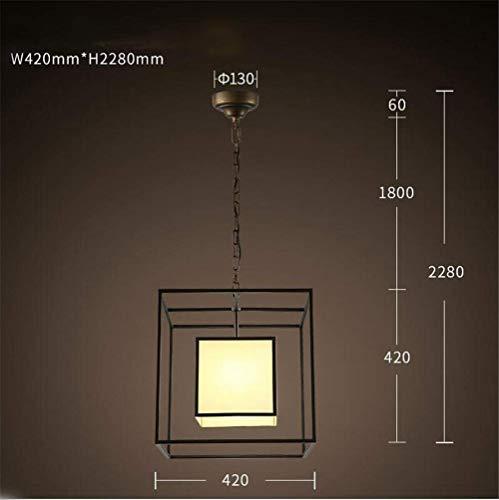 Kronleuchter Pendelleuchte Moderne zeitgenössische Klassiker Eisen Deckenleuchte mit Stoff Lampenschirm für Wohnzimmer Schlafzimmer Restaurant Dekorieren Leuchten