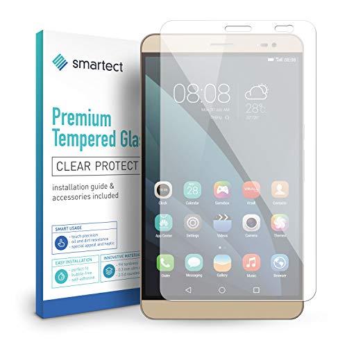 smartect Panzerglas kompatibel mit Huawei MediaPad X2 - Bildschirmschutz mit 9H Festigkeit - Blasenfreie Schutzfolie - Anti Fingerprint Panzerglasfolie