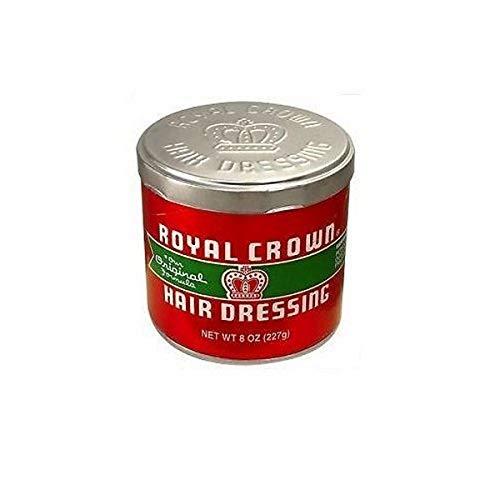 Royal Crown Hair Dressing Pomade, 8 Ounce