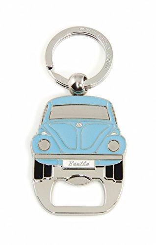 Brisa VW Collection - Volkswagen Furgoneta Hippie Bus T1 Van & Escarabajo Llavero Logotipo Vintage, Anillo de Llavero Retro, Accesorios del Coche como Idea de Regalo/Souvenir