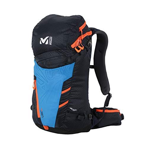 MILLET - Ubic 20 - Rucksack für Damen und Herren - Wandern und Trekking - Durchschnittliches Volumen 20 L - Saphir/Orange (Marineblau/Orange)