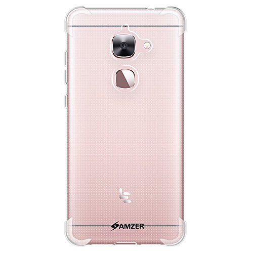 AMZER Pudding TPU X Protection Case Skin for Leeco Le 2, Letv Le 2 - Retail Packaging - Clear