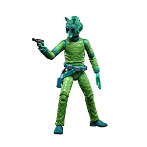 Star Wars The Black Series Greedo 6-Inch-Scale Lucasfilm 50th Anniversary Original Trilogy Collectible Figure, Kids Ages…