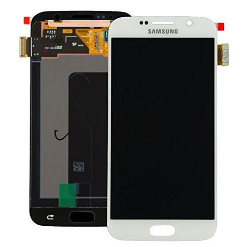 Samsung - Display schermo lcd touch per galaxy s6 sm-g920f bianco service pack