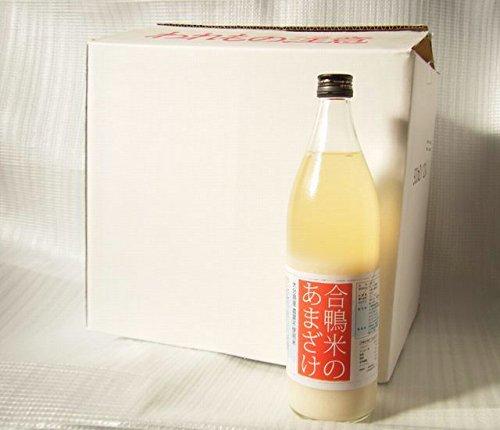 下郷農協 大分県産アイガモ米使用 合鴨米あまざけ 900mlx12本入り