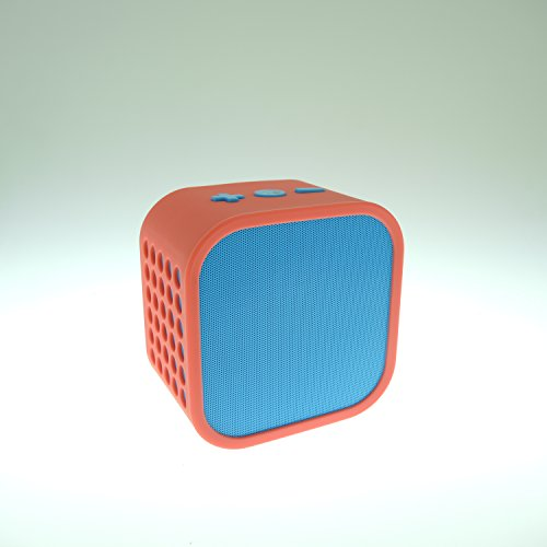 Vivitar Infinite V139BT Portable Wireless Bluetooth Speaker, Powerful Sound with Built-in Mic and AUX Connectivity (Red and Blue)