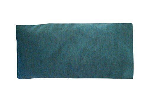 Peacegoods Cotton Eye Pillow COVER 4.5 x 9 Washable - fits our eye pillows or yours - yoga aromatherapy mediation massage - teal green