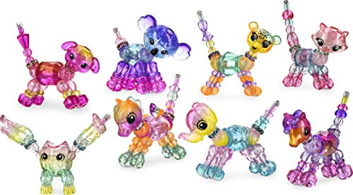 Twisty Petz – 6054470 – Multipack Schatten Twisty Petz – 8 Armbänder zum Sammeln – Schmuck Geschenk für Kinder, Tiere zum Sammeln