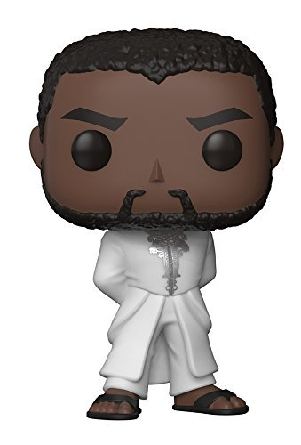 Funko POP! Marvel Black Panther: Black Panther con traje blanco