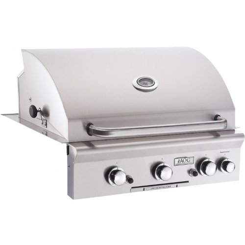 Hot Sale Built-In Natural Gas Grill with 540 sq. in. Cooking Area and Backburner: Stainless