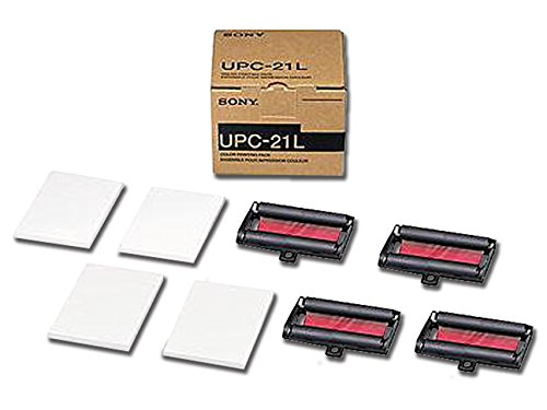Gima 72735 Carta Sony UPC-21 a Colori, Pezzi di 4