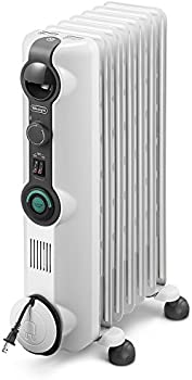 De'Longhi 1500W Oil-Filled Radiator Space Heater