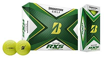 Bridgestone 2020 Tour B RXS Golf Balls 1 Dozen, Yellow