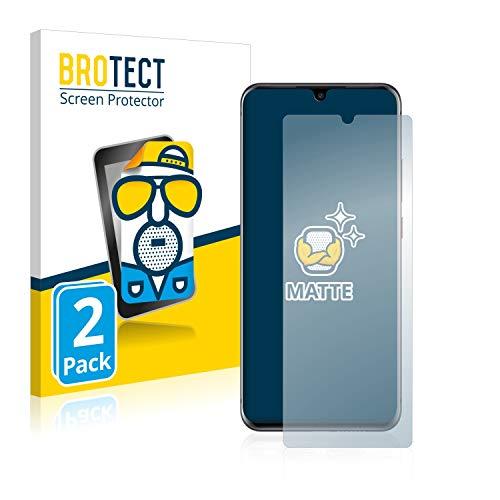 BROTECT 2X Entspiegelungs-Schutzfolie kompatibel mit ZTE Axon 11 4G Bildschirmschutz-Folie Matt, Anti-Reflex, Anti-Fingerprint