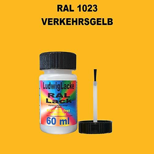 RAL 1023 Verkehrsgelb Lackstift 60ml mit Pinsel