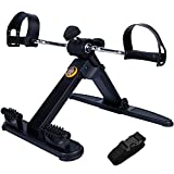 WYLX Mini Bicicleta Estática Pedal Interior Bicicleta Ejercicio Plegable Máquina de rehabilitación De Fuerza Manos Pies Y Piernas para Entrenamiento Rehabilitación