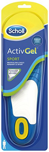 Scholl Semelles ActivGel Sport Homme - EU 45, 9.29, 1 paire