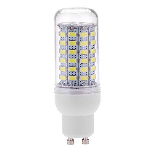 SODIAL GU10 10W 5730 SMD 69 LED bombillas LED Luz del maiz LED Lampara Ahorro de energia 360 grados 200-240V Blanco