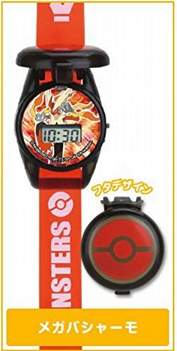 Bandai Official Pokemon XY 2 Watch 8.5' Long Pokemon Watch- Mega Blaziken