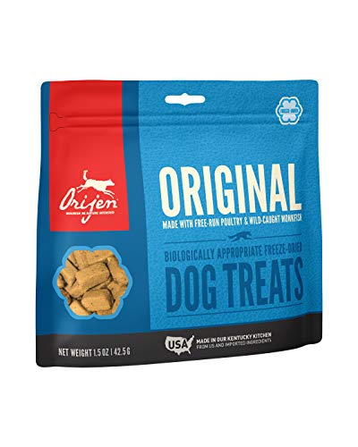 Orijen Freeze-Dried Dog Treats, Original, Biologically Appropriate & Grain Free