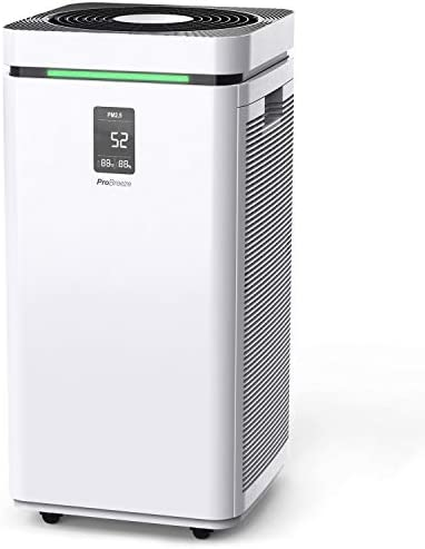 Pro Breeze Large Air Purifier HEPA 13 Filter WiFi and Smart App Air Purifier with 2000 Sq Ft product image