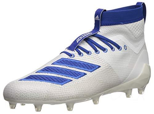 adidas Herren Adizero 8.0 Sk Fußballschuh, Weiá (Weiß/Collegiate Royal/Bright Royal), 52 EU