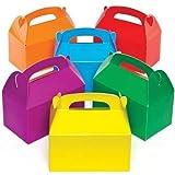 Baker Ross Scatole Regalo Colorate (Confezione da 6) per Bambini da Decorare e Riempire...