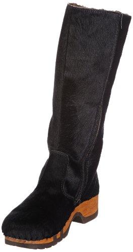 Woody Damen Belinda Kurzschaft Stiefel, Schwarz (schwarz), 41 EU