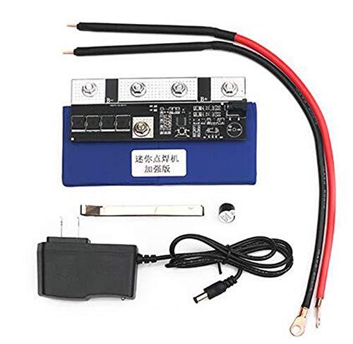 color tree Punktschweißgerät Schweißen Lötmaschine für 18650/26650/32650 DIY Batteriebaugruppe Nickelband 0,1-0,15 mm