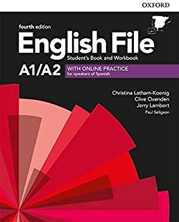 English File 4th Edition A1/A2. Student's Book and Workbook with Key Pack (English File Fourth Edition)