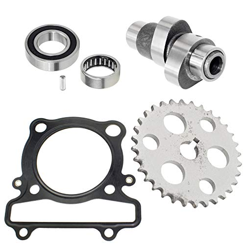Caltric Camshaft Timing Gear Sprocket Gasket compatible with Yamaha Warrior 350 YFM350X 1989-2004