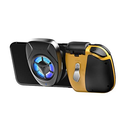 WXLSQ Contrôleur De Jeu sans Fil Bluetooth Manette De Jeu pour Gamepad Mobile Controller Trigger Joystick Matériaux Haute Performance, pour iOS Et Android Phone sans Fil Contrôleur De Jeu,B