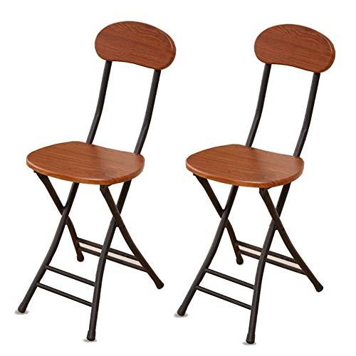 Qidi set met twee krukken, inklapbaar, hoge stoelen, ontbijtstoel, keuken, zachte zitting, capaciteit 240 kg